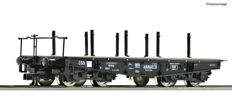 Schwerlast-Flachwagen der CSD, Spur TT