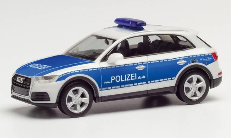 Audi Q5 Wasserschutzpolizei Mainz, 1:87, H0