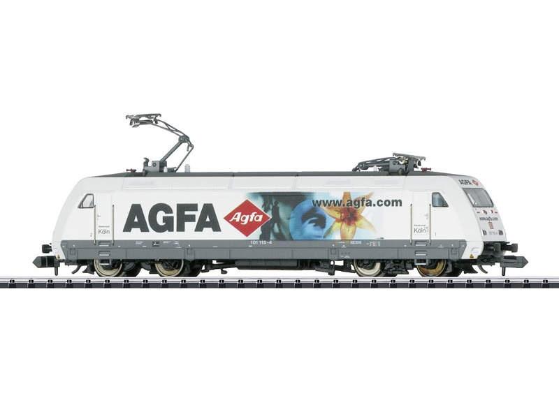 E-Lok BR Baureihe 101 115-4 der DB AG, Minitrix Spur N