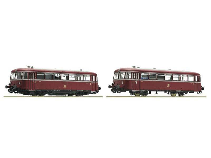 Schienenbus 2-teilig BR 798/998 der DB, Spur H0