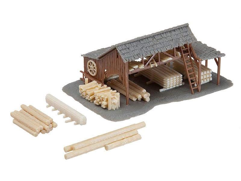 Holzlager Bausatz N
