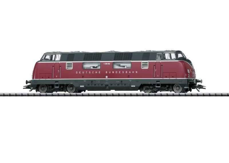 Diesellokomotive V200.0 der DB, Sound, mfx, Spur H0