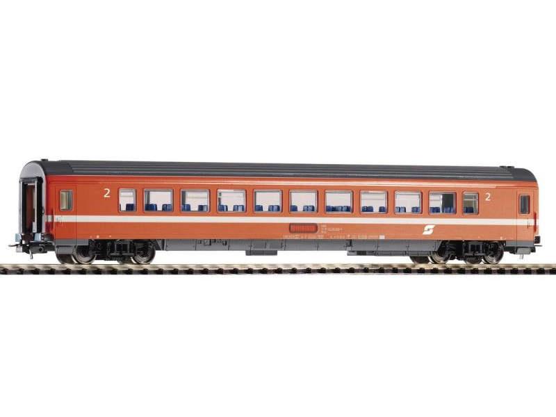 Schnellzugwagen Eurofima orange 2.Klasse der ÖBB, Ep. IV, H0