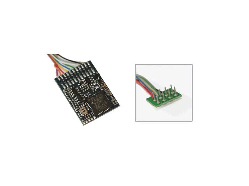 LokPilot V4.0, Multiprotokoll MM/DCC/SX, 8-polig NEM652