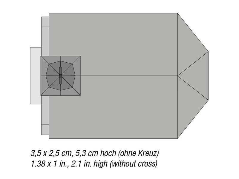 NOCH 63903 Kapelle /'St Nepomuk/' Laser-Cut Bausatz Spur N