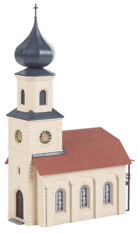 Dorfkirche Bausatz Hobby-Programm H0