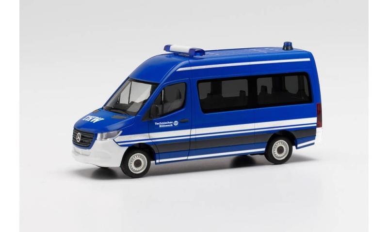 Mercedes-Benz Sprinter 18 Bus HD THW, 1:87 / Spur H0