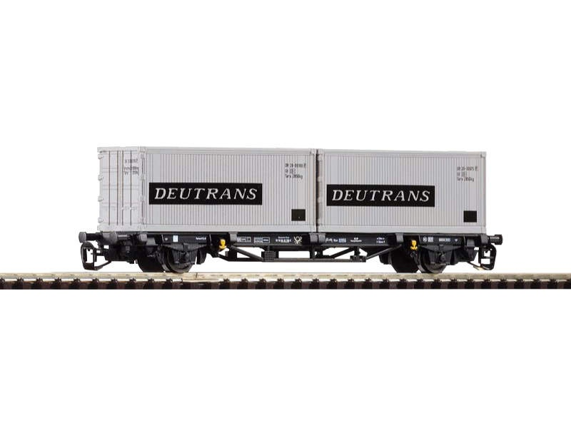 Containertragwagen Lgs579 Deutrans der DR, Ep. IV, Spur TT