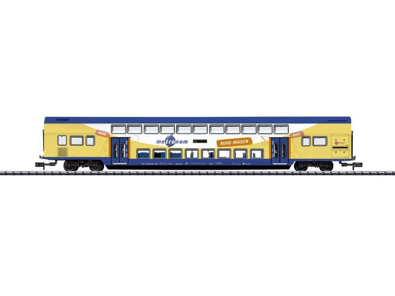 Doppelstockwagen der Metronom, Minitrix, Spur N