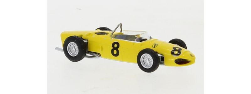 Ferrari F156, gelb, No.8,Formel 1,O. Gendebien,1961, 1:87/H0