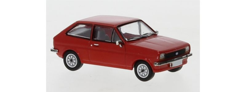 Ford Fiesta, rot, 1976, 1:87 / H0