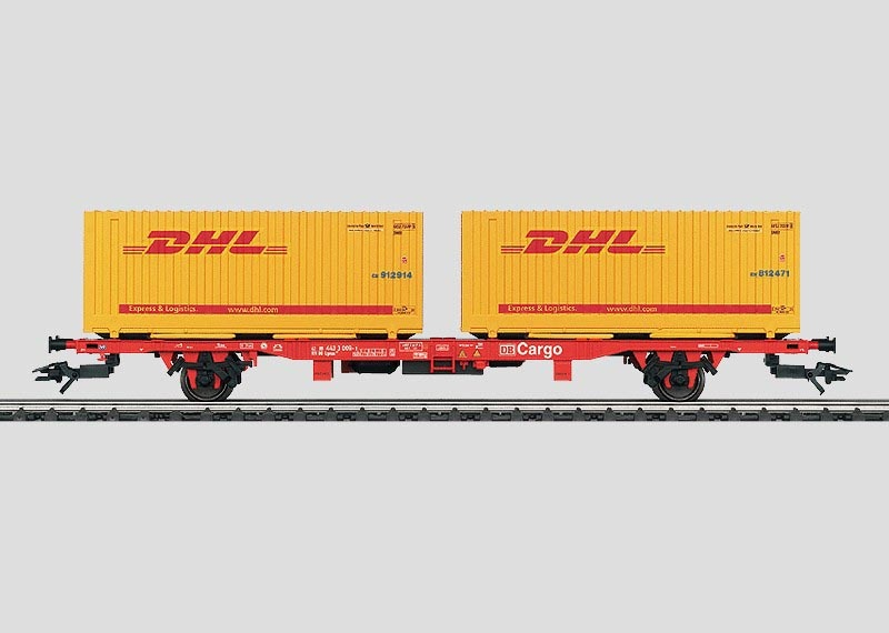 Containerwagen Lgns 570 DHL DB AG H0