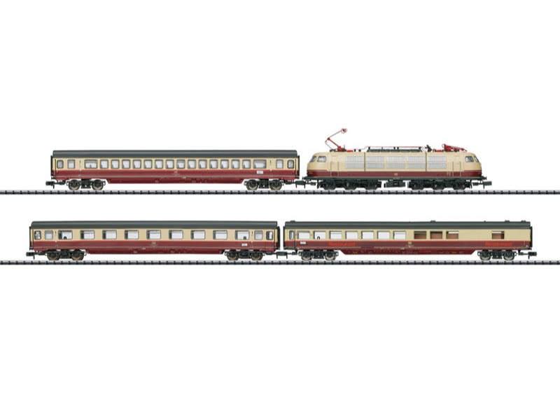 Zug-Set Rheingold TEE 7 DB Spur N