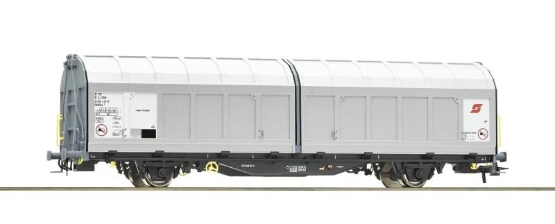 Schiebewandwagen der ÖBB, DC, Spur H0