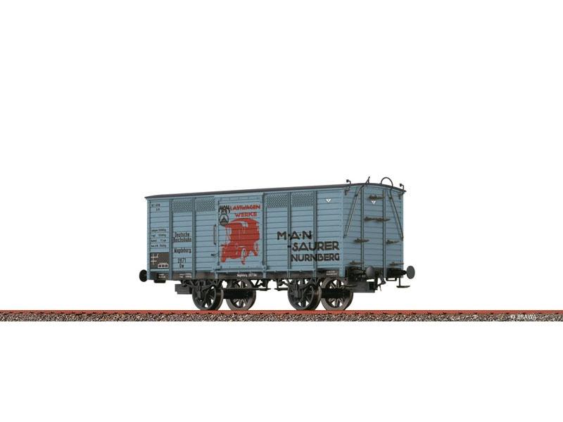 Güterwagen Gw DRG, II, MAN, DC, Spur H0