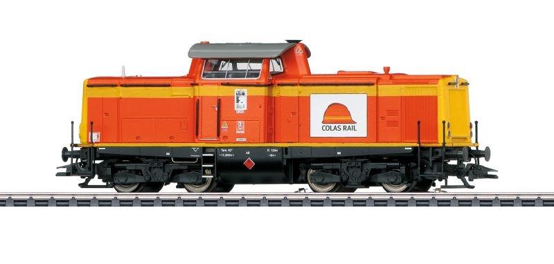 Diesellokomotive BR 212 der Colas Rail, Sound, mfx+, DCC, H0