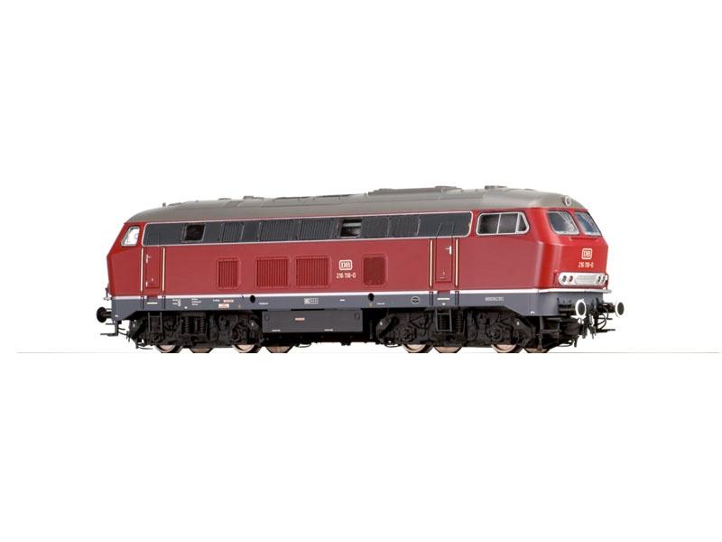 Diesellokomotive BR 216 rot der DB, Sound, IV, DC, Spur N