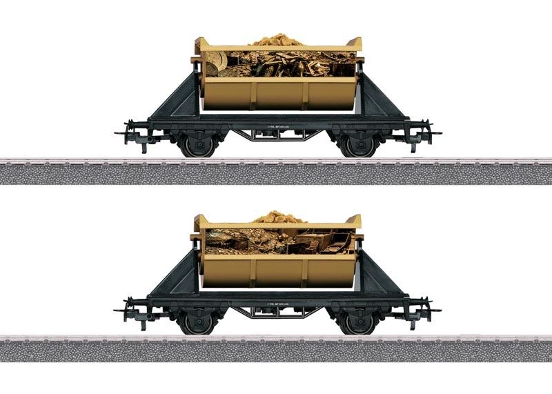 Piraten Güterwagen-Set Schatz der Wilden 13, AC, Spur H0