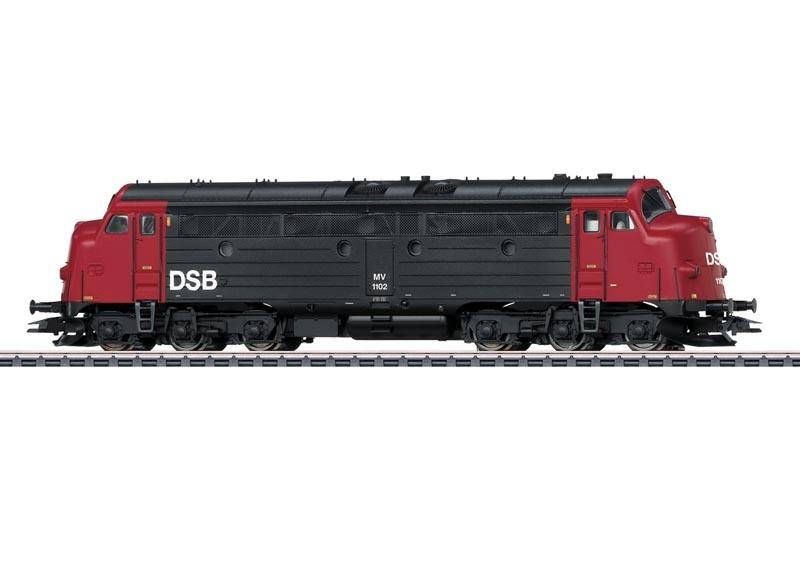 Diesellokomotive MV der DSB, Sound, mfx+, DCC, AC, Spur H0