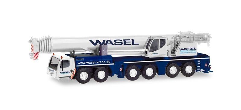 Liebherr LTM 1300-6.2 Mobilkran Wasel, 1:87 / H0