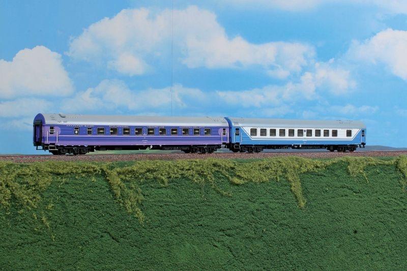 Schlafwagen-Set Saratov Express  der RZD, Set C, Ep.V, H0
