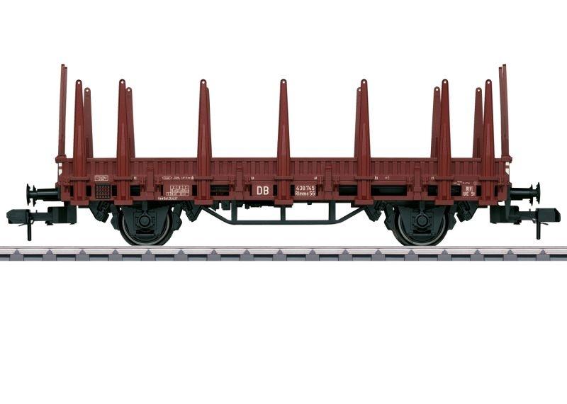 Rungenwagen Rlmms 56 der DB, Spur 1