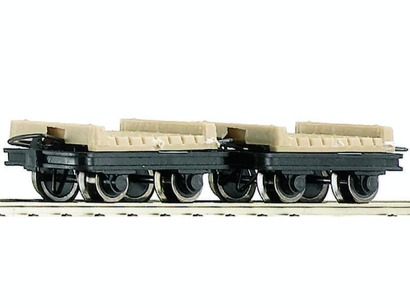 Güterwagen-Set Brückenloren 2-tlg. H0e