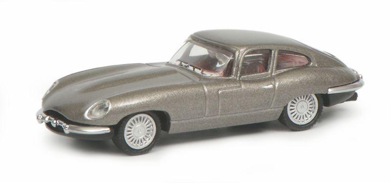 Jaguar E-Type, grau 1:87 / H0
