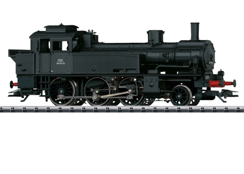 Dampflokomotive Serie 130 TB der SNCF, DC, Spur H0
