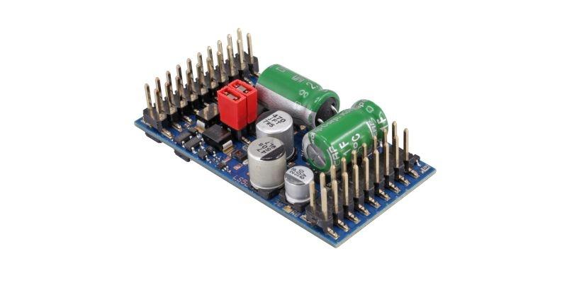 LokPilot 5 L DCC/MM/SX/M4, Stiftleiste mit Adapter, 0, G, 1