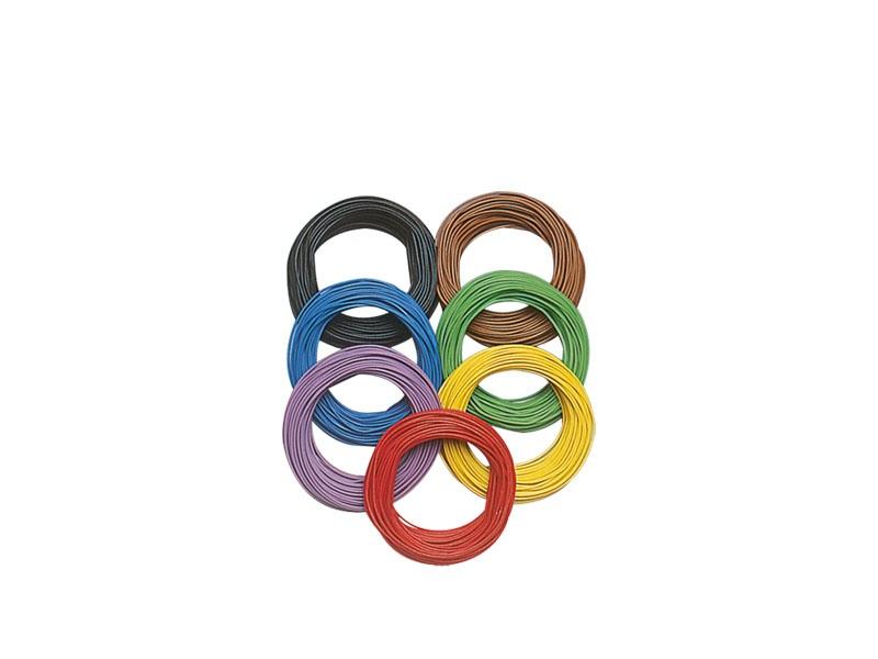 Litze 0,08 mm², 10 m Ring, grün