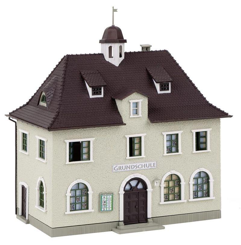 Dorfschule Bausatz, Spur H0