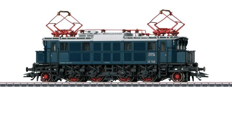 Elektrolokomotive Baureihe E 17 DB, Sound, mfx+, AC, Spur H0