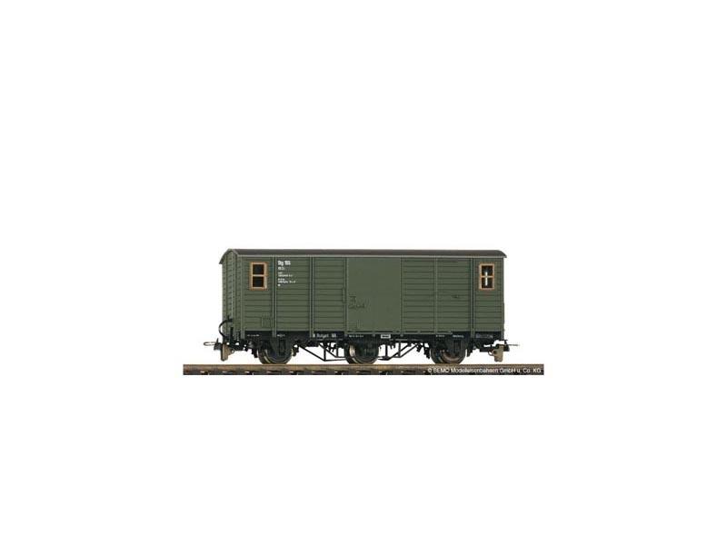 Hilfs-Post/Packwagen Stg 165 der DB, Spur H0e