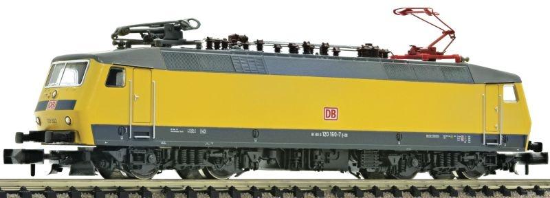 Elektrolokomotive 120 502 (120 160-7) der DB AG, DC, Spur N