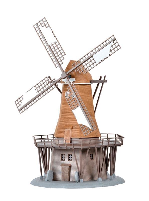 Windmühle in Lemkenhafen, Bausatz, Spur N