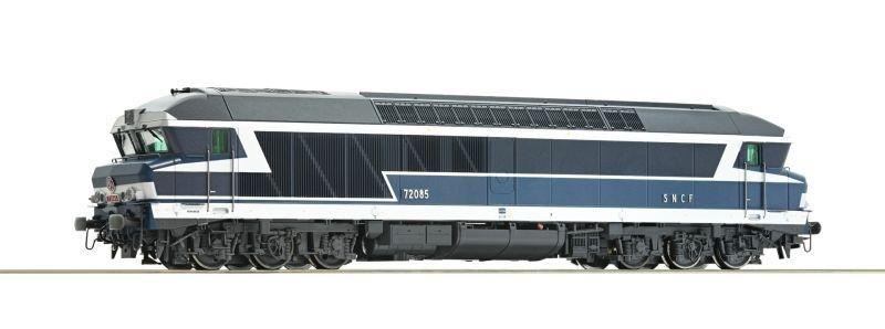 Diesellokomotive CC 72000 der SNCF, Sound, DC, Spur H0