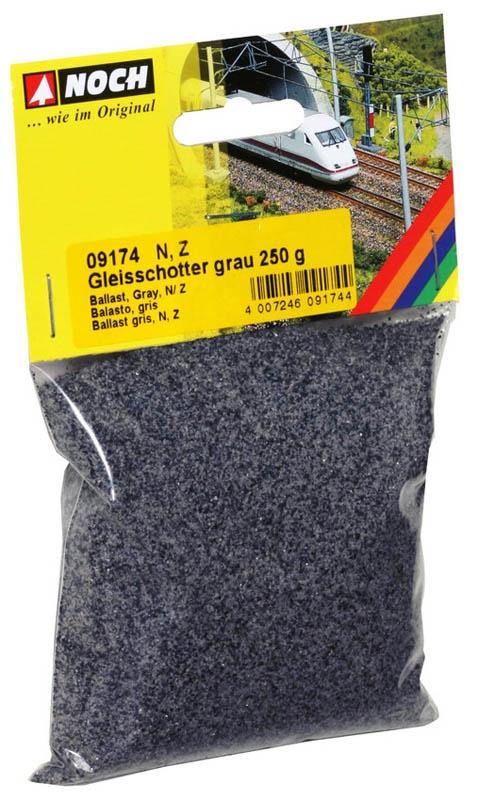 Gleisschotter, grau, 250 g, Spur N,Z
