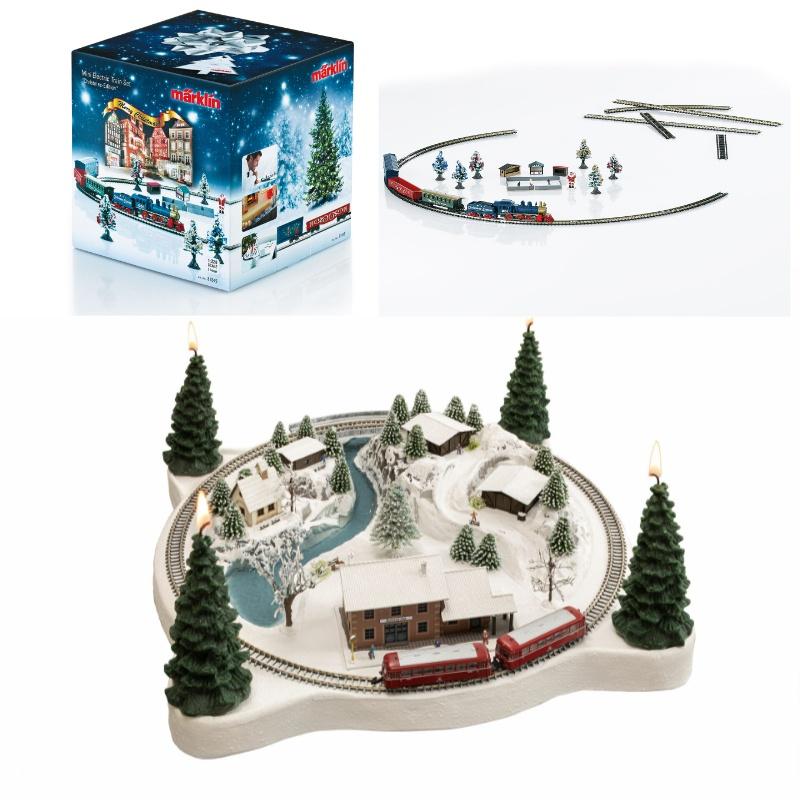 Adventskranz Winterzauber mit Weihnachtsstartpackung, Spur Z
