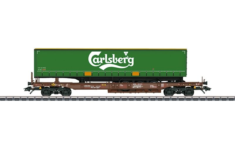 Taschenwagen Carlsberg der AAE, Epoche VI, Spur H0