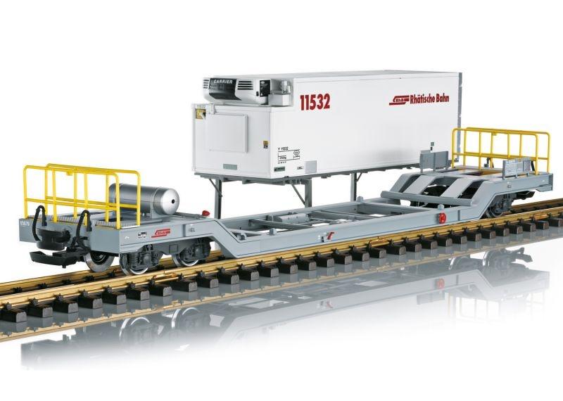 Containerwagen Bauart Sb-t der RhB, Spur G