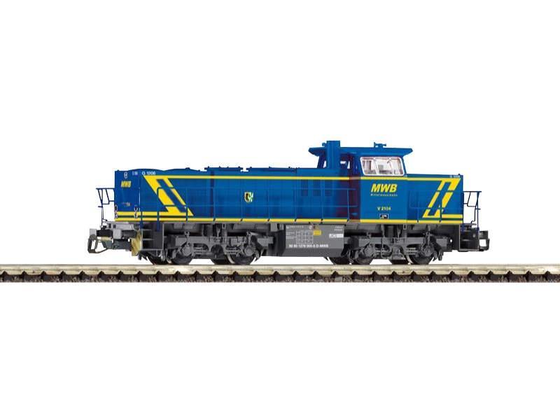 Diesellok G 1206 MWB, Epoche VI, Spur TT
