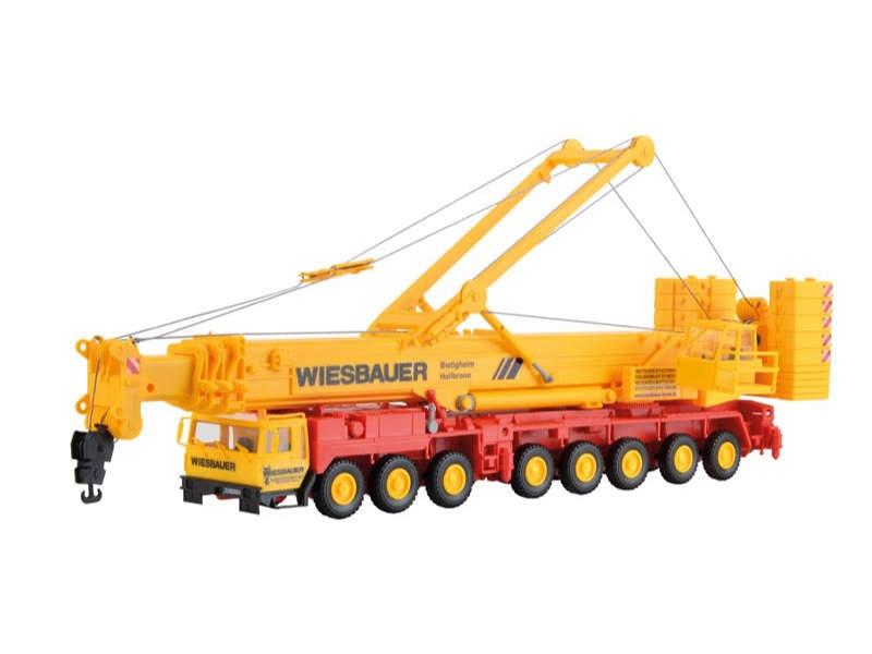 LIEBHERR 1400 Mobilkran WIESBAUER, Bausatz, Spur H0