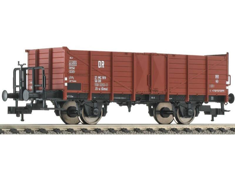 Offener Güterwagen Bauart El-u (omu) der DR, Spur H0