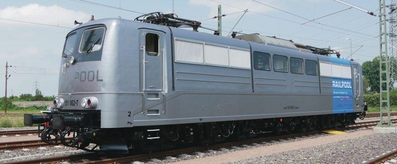 Elektrolokomotive 151 062-7 der Railpool, Epoche VI, Spur N