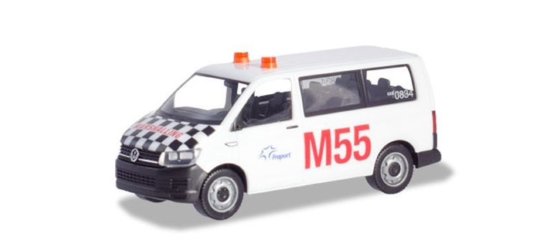 VW T6 Multivan Fraport Marshalling 1:87 / H0