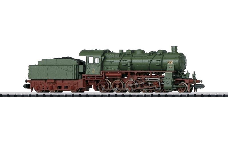 Dampflok G12 der K.W.St.E., Minitrix Spur N