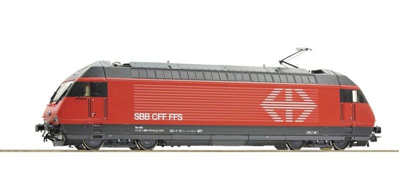 Elektrolokomotive Re 460 der SBB, Sound, DC, Spur H0