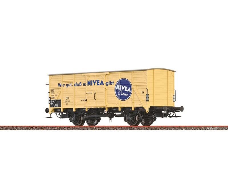 Güterwagen G10 DB, III, Nivea, DC, Spur H0