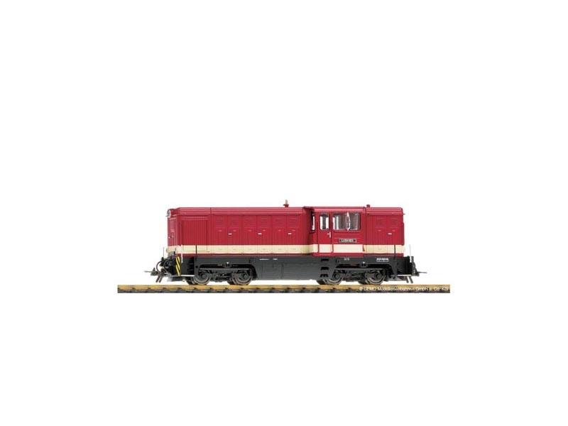 Diesellok rot L45H-083 der SDG , Spur H0e